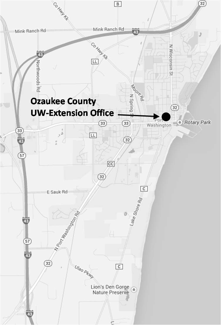 Office Map & Directions – Extension Ozaukee County on map of shorewood, map of greendale, map of wausau, map of menomonee falls, map of lake geneva, map of superior, map of pewaukee, map of elm grove, map of belgium, map of mukwonago, map of fox point, map of eau claire,