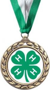 James W Crowley 4-H Dairy Award Logo