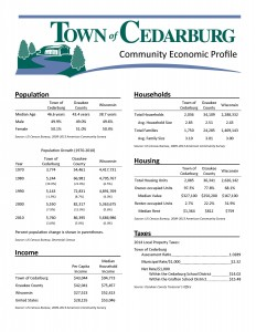 2015 Town of Cedarburg Profile_Page_1